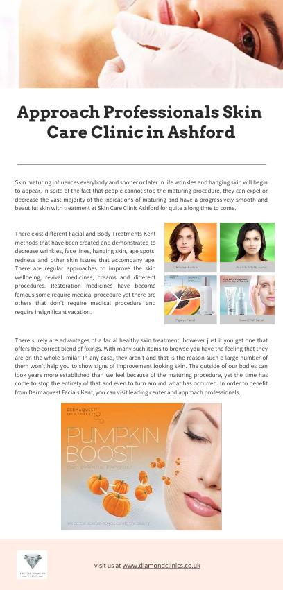Approach Professionals Skin Care Clinic in Ashford